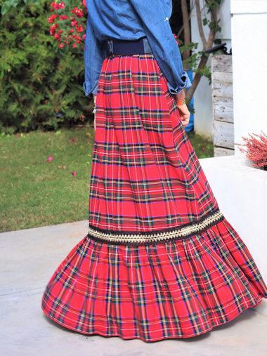 Falda Larga Escocesa