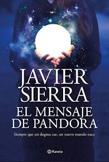 El mensaje de Pandora, de Javier Sierra