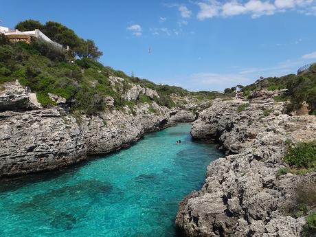 turismo de cercanía en Baleares, cala de Binibeca Vell