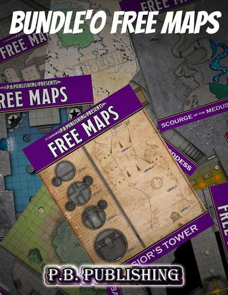 Bundle'O FREE MAPS, de P.B Publishing