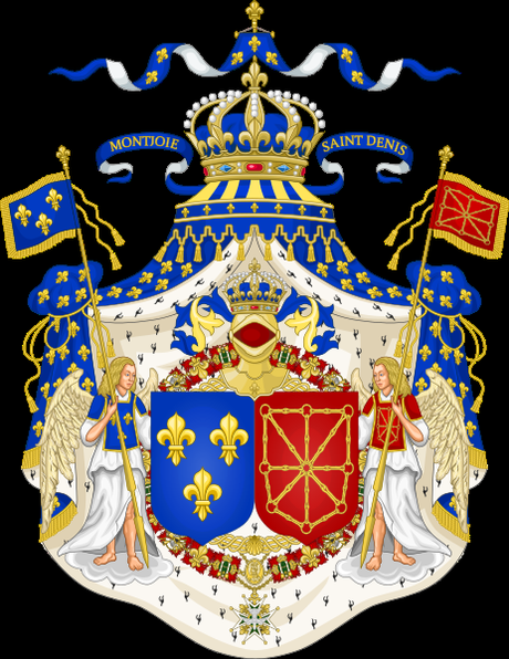 File:Grand Royal Coat of Arms of France & Navarre.svg