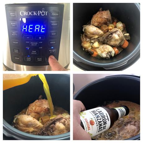 pollo guisado crockpot