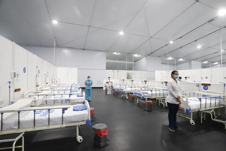 EsSalud presenta nueva aldea para pacientes con COVID-19 en Lima