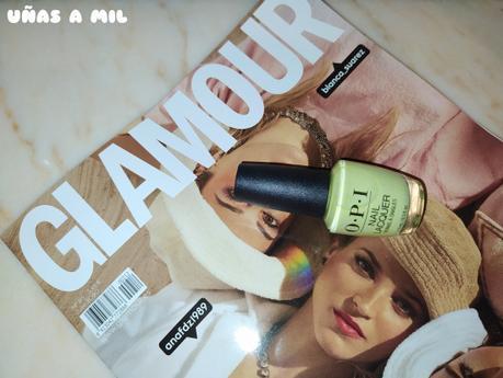 Esmaltes OPI de regalo con la Revista Glamour Julio 2020
