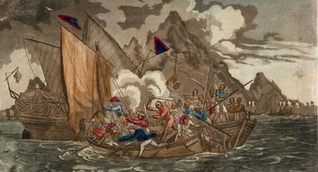 piratas chinos,piratas,China, Zheng Yi,Bandera Roja,Cantón,Guangzhou,