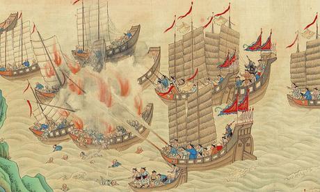 piratas,China, Zheng Yi,Bandera Roja, Cantón,Guangzhou,Zhen Shi,Ching Shih,Madame Ching, Zheng Yi Sao,ejército pirate,confederación pirata,jefa de los piratas,Mar de la China,