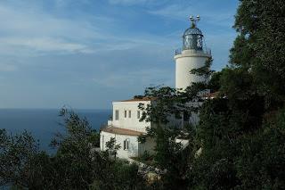 impactante el Faro de Sant Sebastià en Palafrugell
