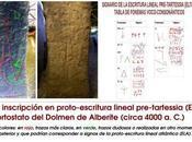 Reveladora evidencia epigráfica Dolmen Alberite (Cádiz) podría tener entre 6000 5000 años.