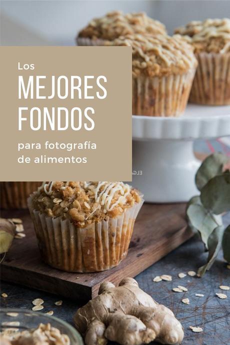 Los mejores fondos para fotografía de alimentos