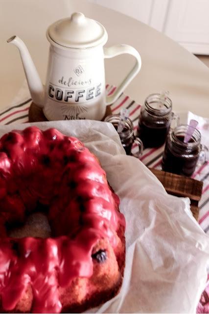 Cherry Beer Bundt Cake