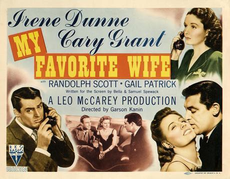 MI MUJER FAVORITA  (Irene Dunne, Cary Grant)