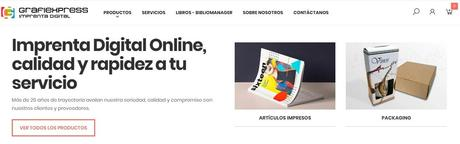 Grafiexpress estrena tienda online con el primer estándar de usabilidad UX 2020 de Canarias