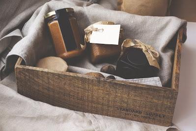 Caja con regalos