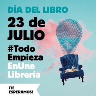 23 de julio, Día del libro