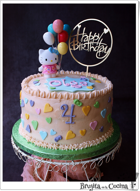 Tarta Hello Kitty - Olga cumple 4