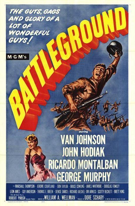 FUEGO EN LA NIEVE (Battleground)  - William A. Wellman