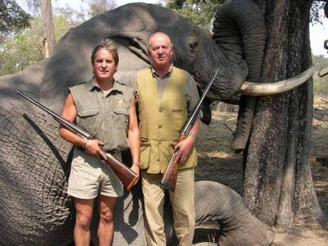 Corinna, la amiga del rey Juan Carlos que acompañó  al rey al safari