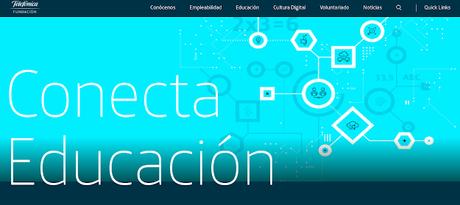 Paisajes de aprendizaje / Conecta Educación / Fundación Telefónica