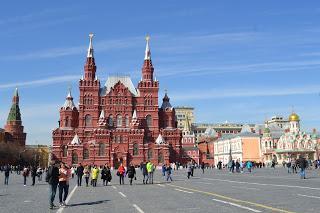 Viviendo Moscú en 5 días. Abril 2016.