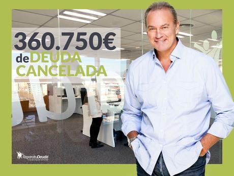 Repara tu deuda Abogados cancela 360.750 eur en Guadalajara (Madrid) con la Ley de la Segunda Oportunidad