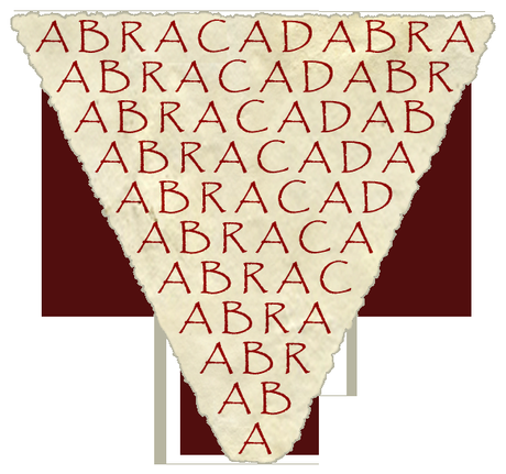 Abracadabra, el poder curativo del triángulo