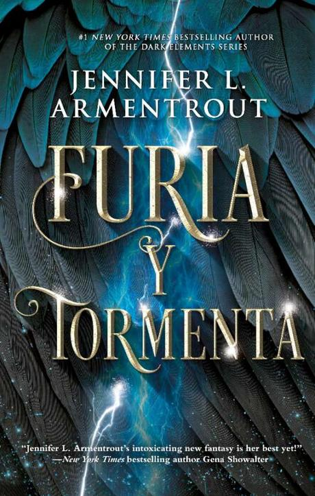 Furia y Tormenta de Jennifer L Armentrout ya tiene portada en español