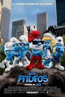 Trailer: Los pitufos (The smurfs)