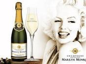 Champagne Marilyn Monroe