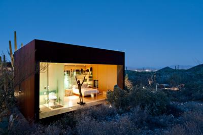 Casa Minimalista En El Desierto Paperblog