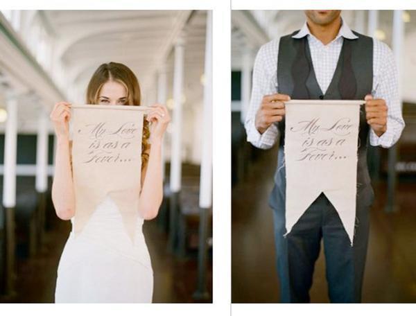 Ideas originales carteles mensajes guirnaldas letras en - Carteles originales ...