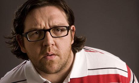 Nick Frost, el enano que faltaba en Snow White and the Huntsman