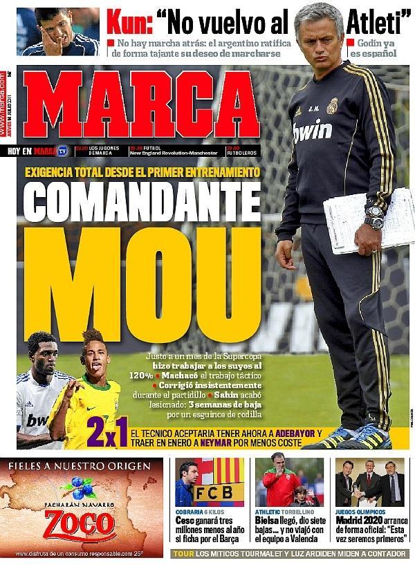 Diario Deportivo Marca 14 julio.2011