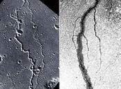 Surcos cráteres