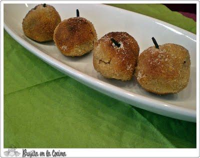 Croquetas de manzana