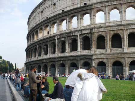 colosseo roma italia Roma la ciudad eterna