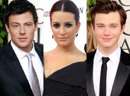 Lea Michele, Cory Monteith y Chris Colfer se enteraron por Twitter que no volverían a Glee