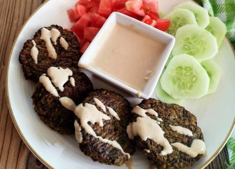 Receta de falafel de lentejas, sin freír y sin gluten