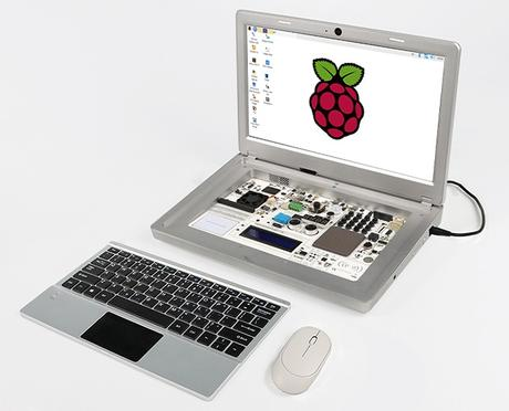 CrowPi2 – Un portátil basado en Raspberry Pi y un banco de pruebas para enseñar ciencias