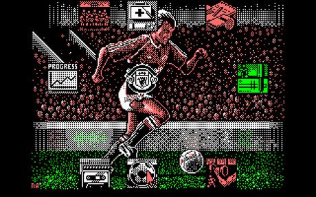 videojuego sobre el Manchester United de 1990