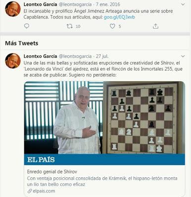 Fantástico trabajo de la historia del ajedrez tinerfeño realizado por Ricardo Moyano