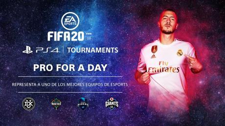 FIFA 20 contará con el torneo Pro for a Day en Playstation