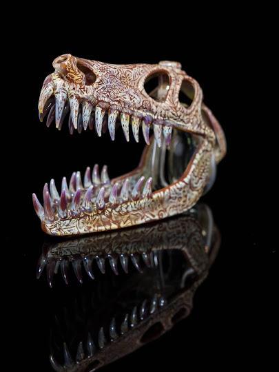 Los dinosaurios de cristal de Buck Harris