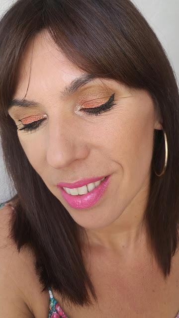 look de maquillaje