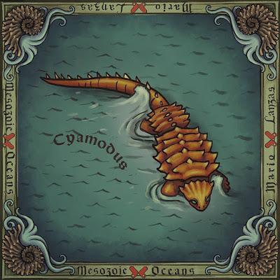 El bestiario oceánico mesozoico de Mario Lanzas