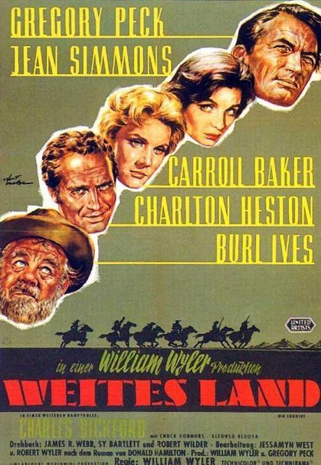 HORIZONTES DE GRANDEZA (The Big Country) - William Wyler
