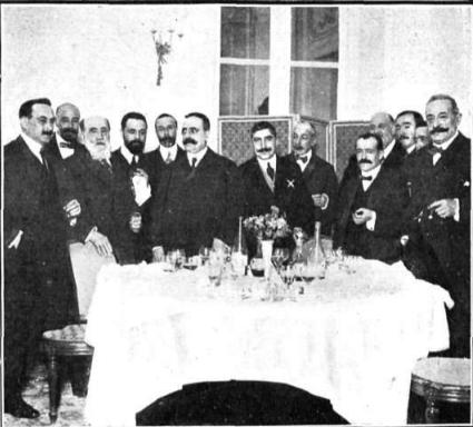 1912:El alcalde de Santander Sr. Lloreda ,en Madrid para invitar a Su Majestad a su toma de posesión