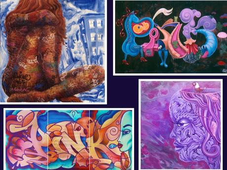 Graffiti femenino. Lady Pink