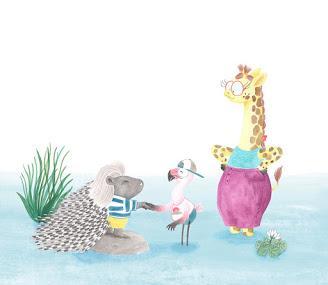 Ilustrando a... Mar Villar