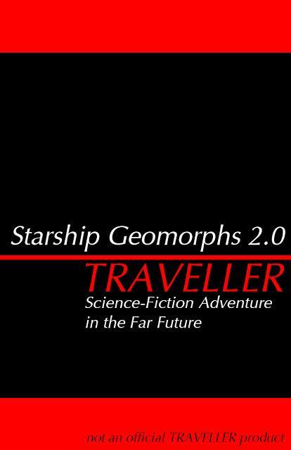 Starship Geomorphs 2.0 para Traveller, en descarga libre