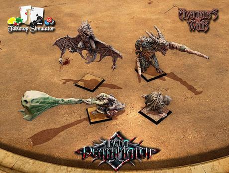 AoW: Superventas de Julio y mas añadidos al Arena Deathmatch (Tabletop Simulator)